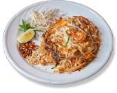 Chicken & Prawn Pahd Thai